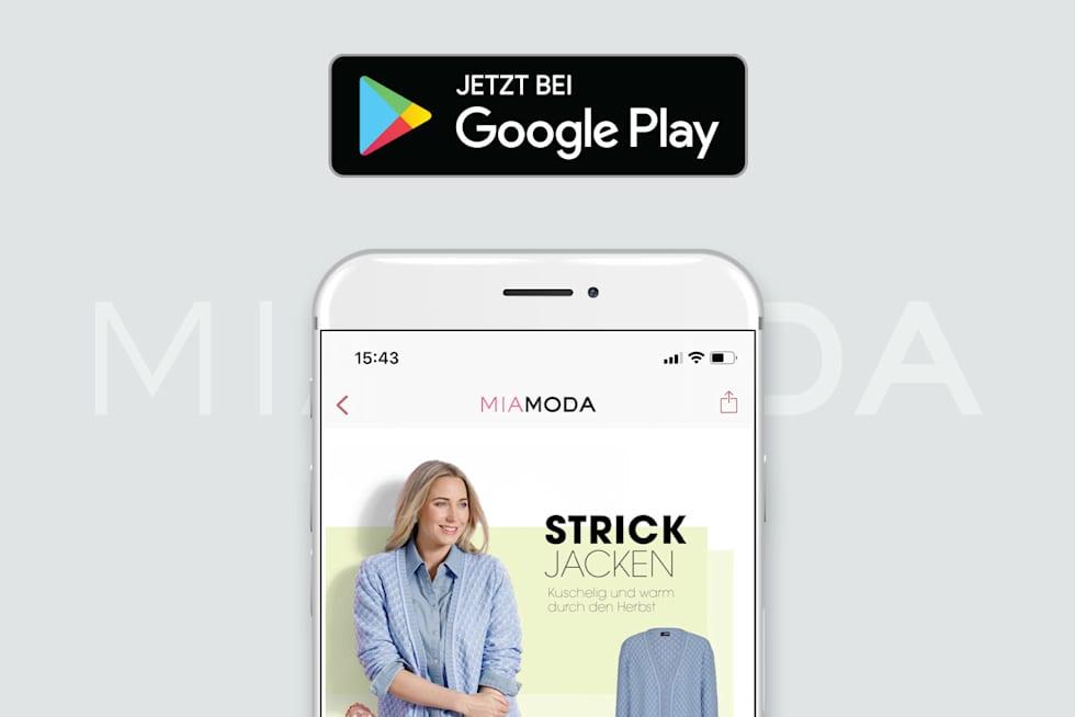 MIAMODA Große Größen Mobile Google Play Store jetzt downloaden