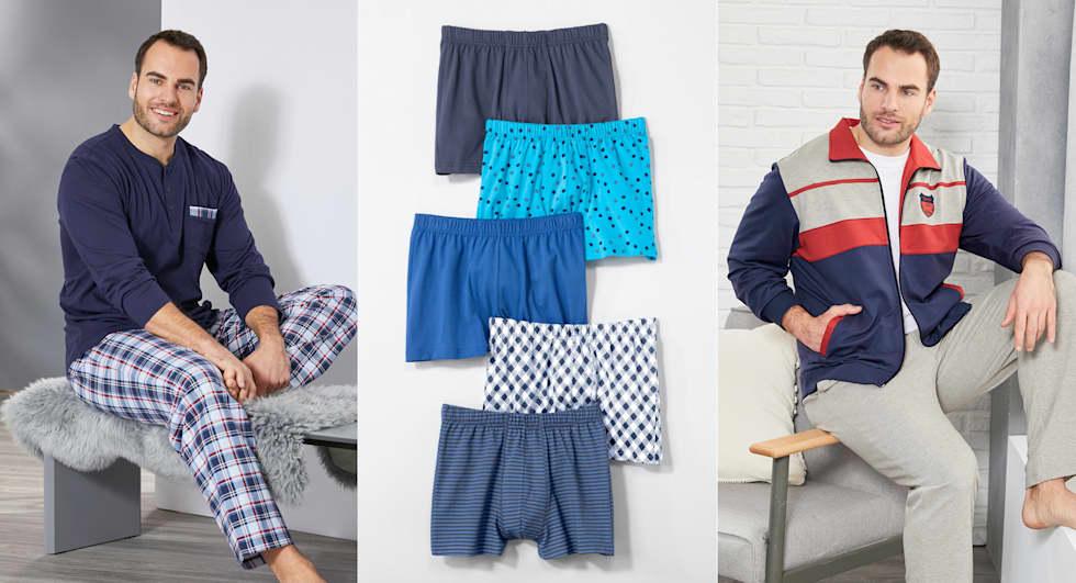 Wäsche für Herren entdecken bei HAPPYsize