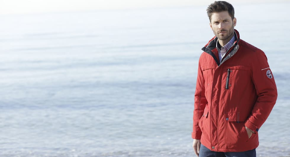 Jacken in Plus Size für Herren