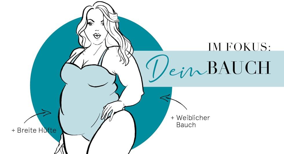 Problemzone Bauch - Styling Tipps um den Bauch zu kaschieren