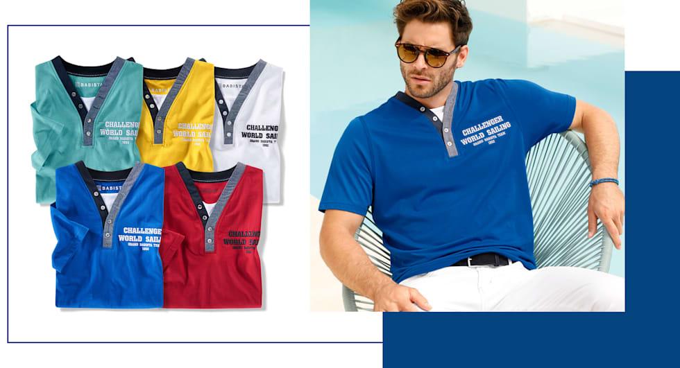 2 Shirts Ihrer Wahl in 5 verschiedenen Farben - Nur 40 €