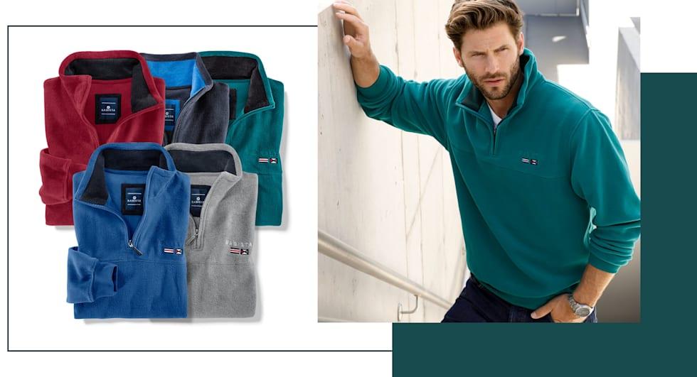 Fleece-Sweatshirts