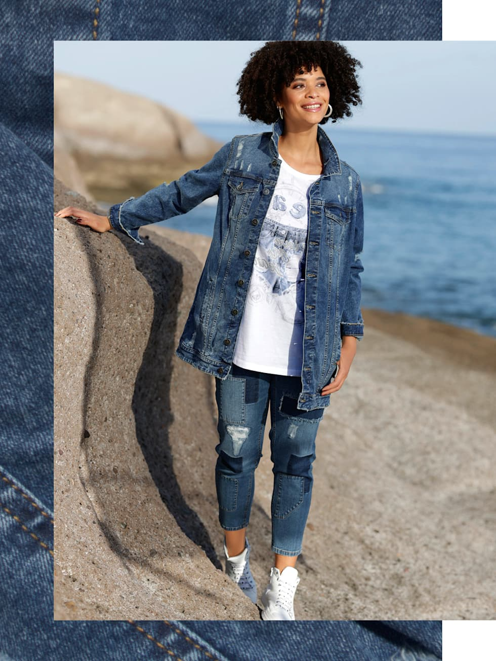 Outfit Jeanslook