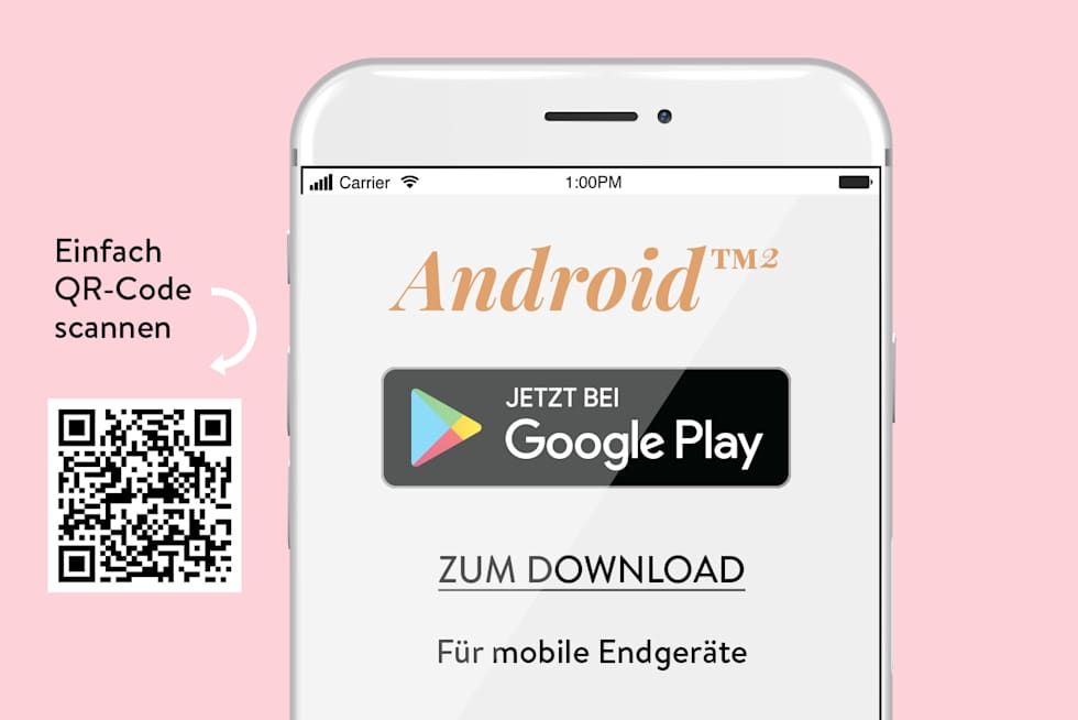 Download der WENZ Shopping App Android PlayStore