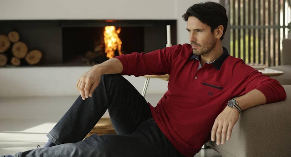 Poloshirts in Plus Size für Herren