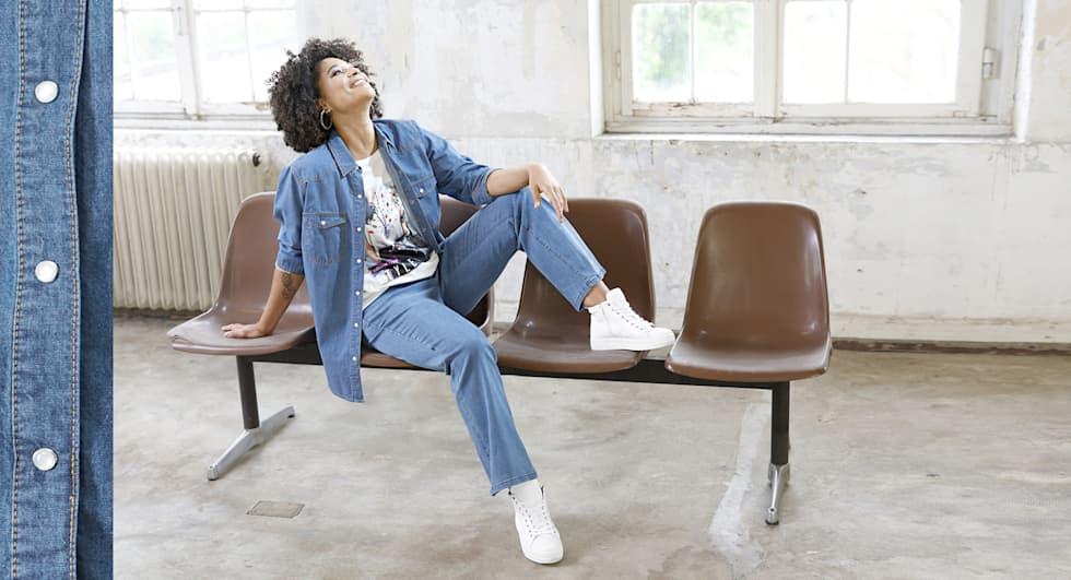 Les jeans pour femme en grandes tailles