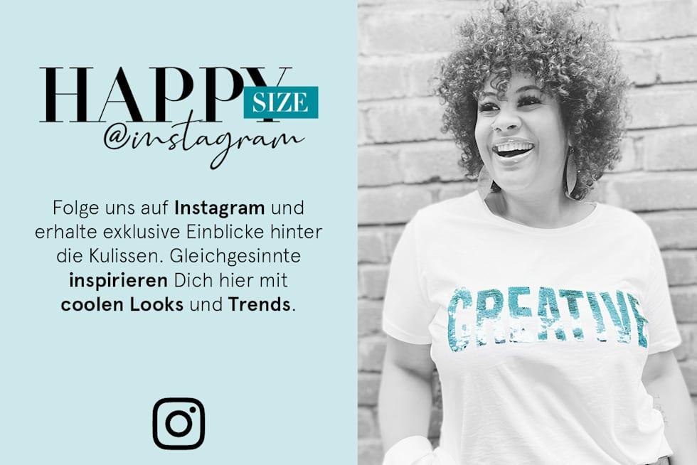 Folge uns auf Instagram   HAPPYsize