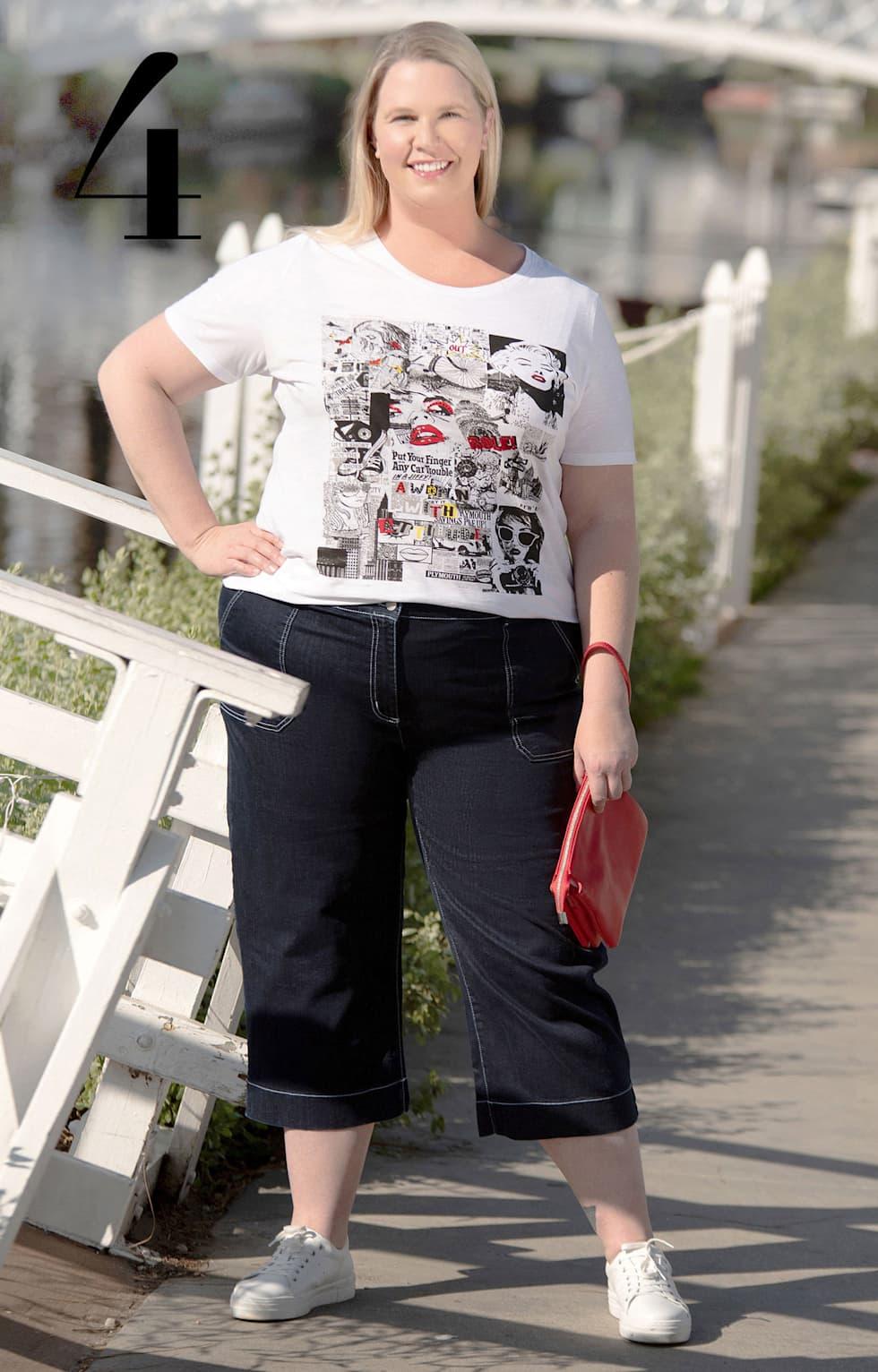 MIAMODA Grosse Grössen Mode Bloggerin Silvana Denker in Los Angeles