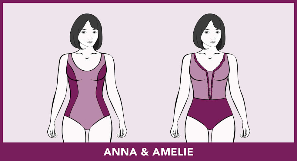 Modèles de maillots de bain - Anna & Amelie