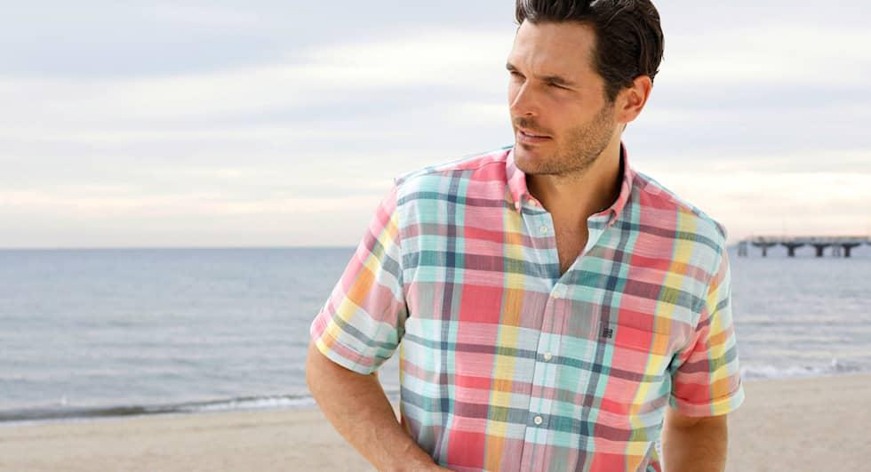 Chemises à manches courtes - légères et chic pour l'été