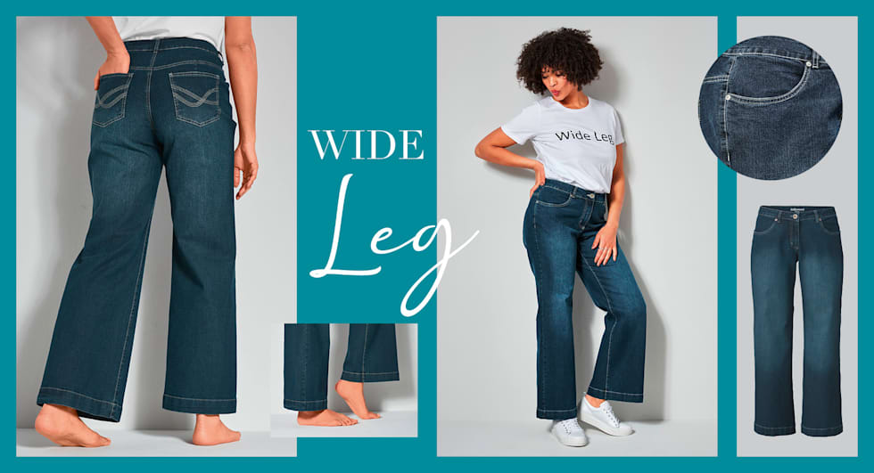 Wide Leg Jeans Dames
