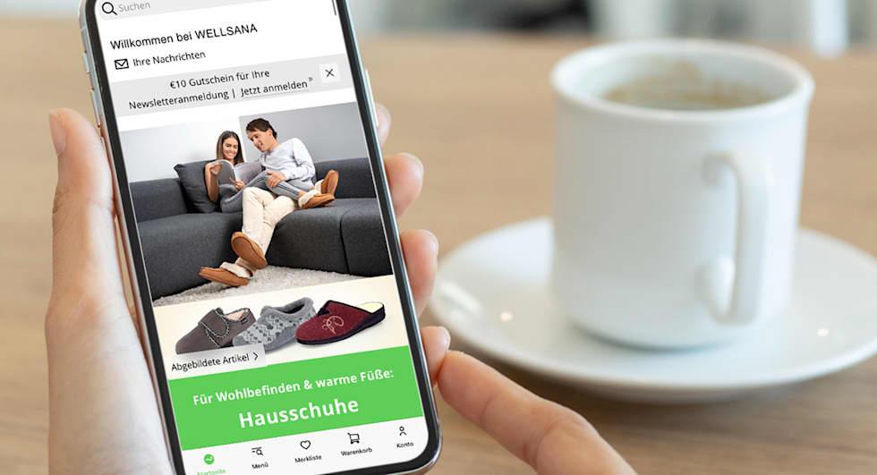 Die App rund um Gesundheit & Wohlbefinden | WELLSANA