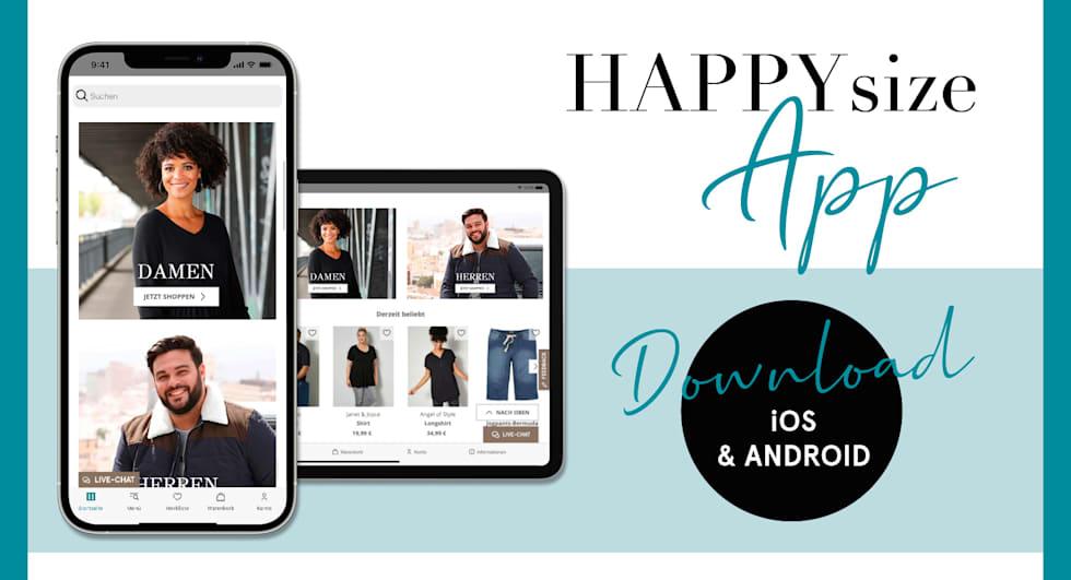 HAPPYsize App - herunterladen und inspirieren lassen