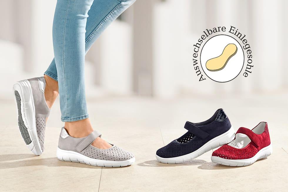 Schuhe für Einlagen