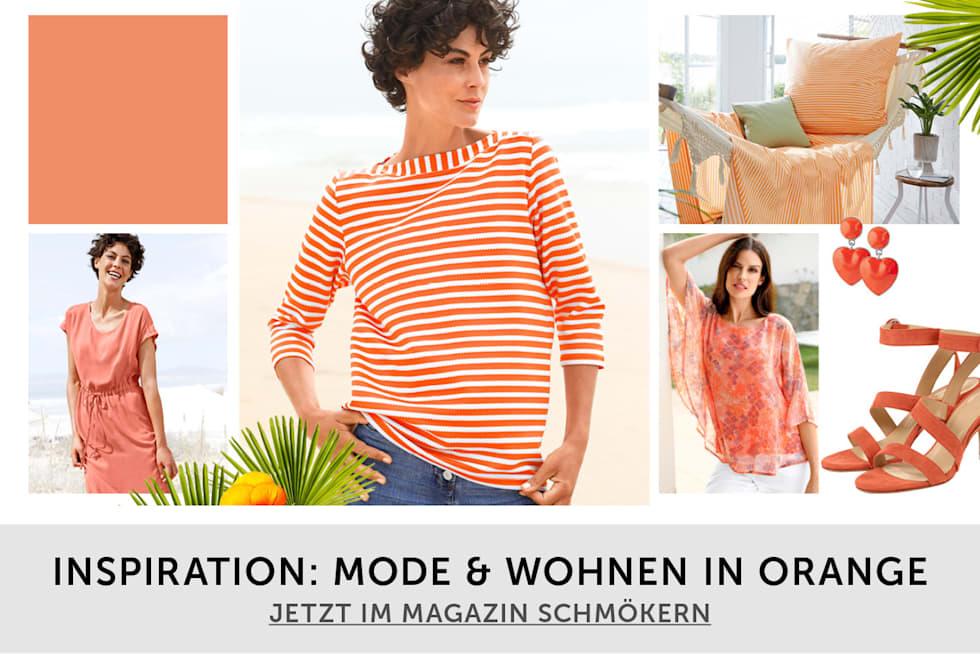 Trendfarbe Orange
