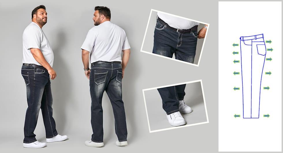 Comfort Fit Jeans Heren
