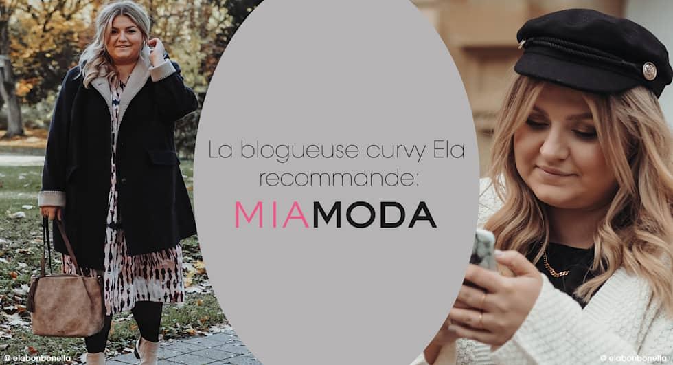 Blogueuse de grande taille MIAMODA @elabonbonella