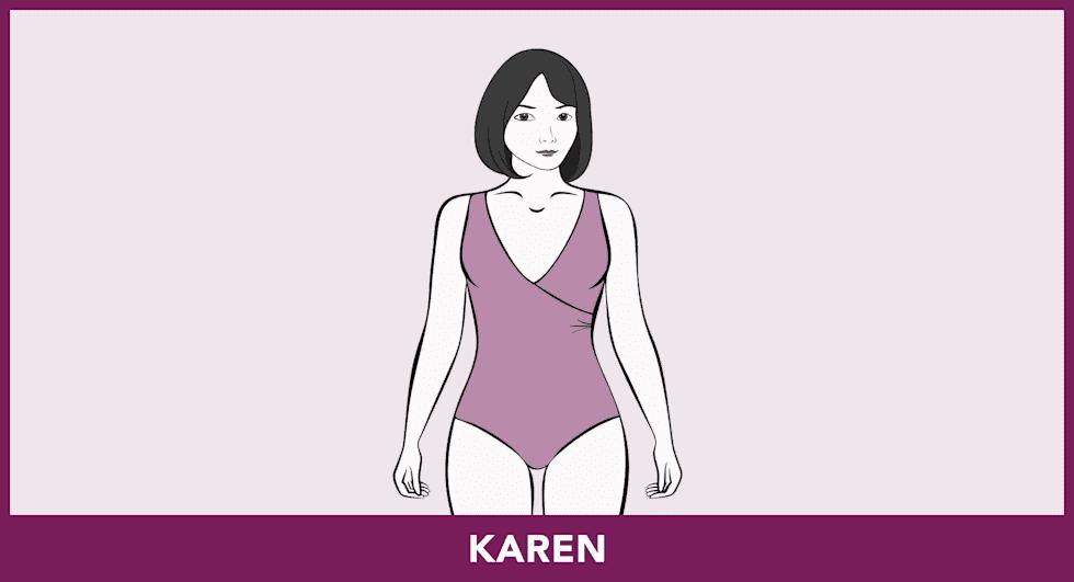 Modèles de maillots de bain - Karen