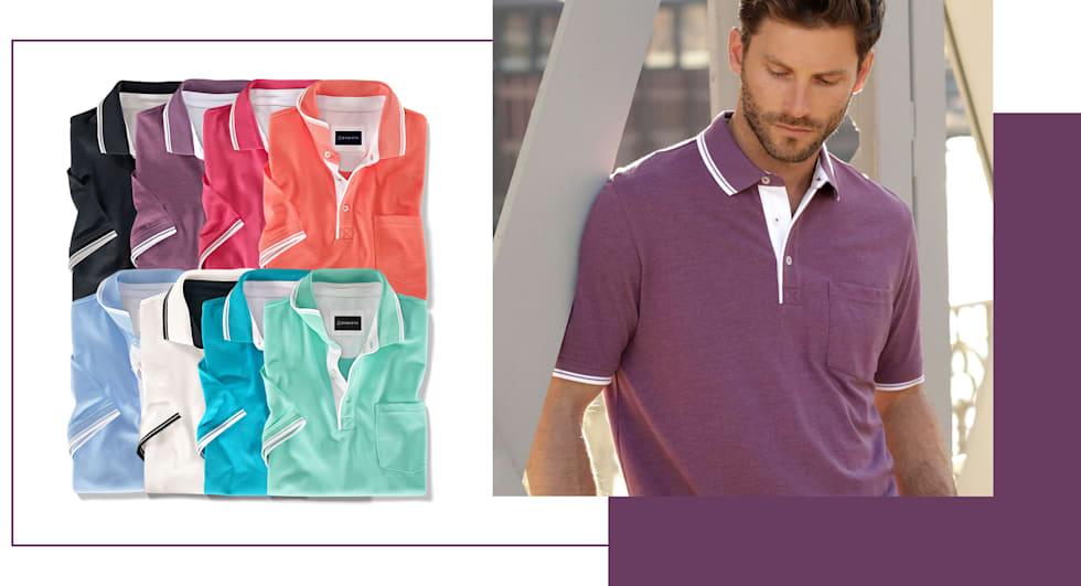 2 für 1: Poloshirts