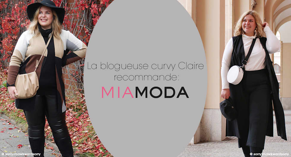 Blogueuse de grande taille MIAMODA @sorryimawkwardsorry
