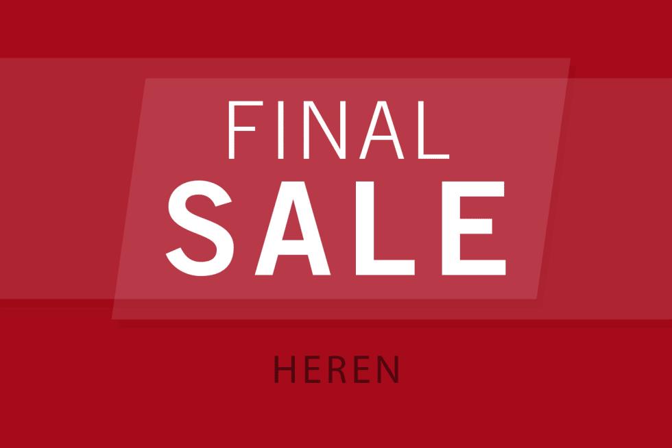 Final Sale Heren