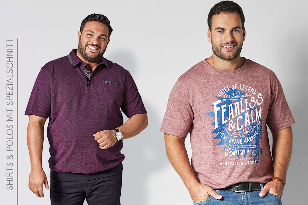 Shirts und Polos für Herren