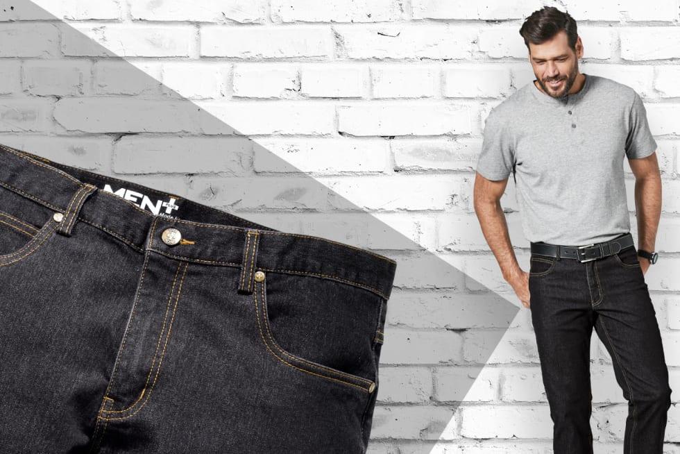 Naar de jeans