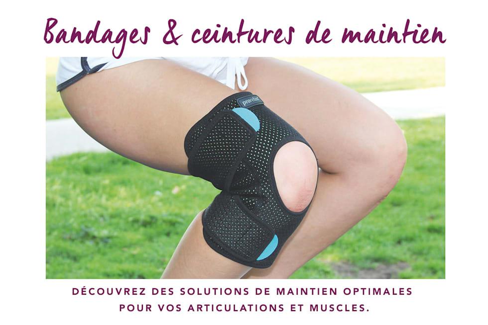 Bandages & ceintures de maintien