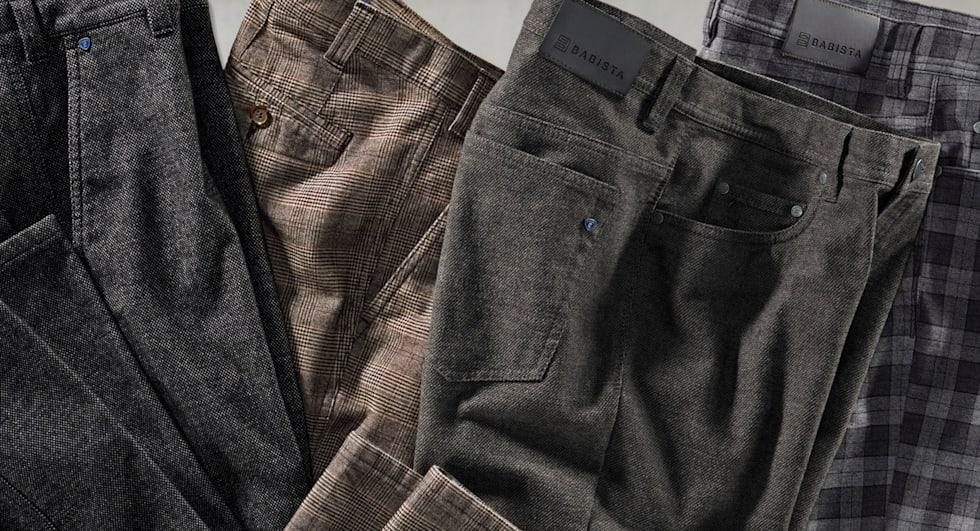 Heren broeken van hoge kwaliteit bij BABISTA