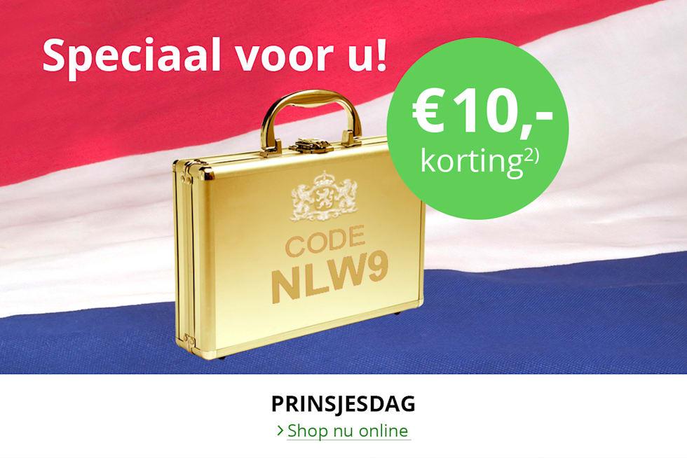 Wellsana Prinsjesdag 10 euro korting