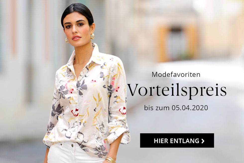 Modefavoriten zum Vorteilspreis bis zum 05. April 2020
