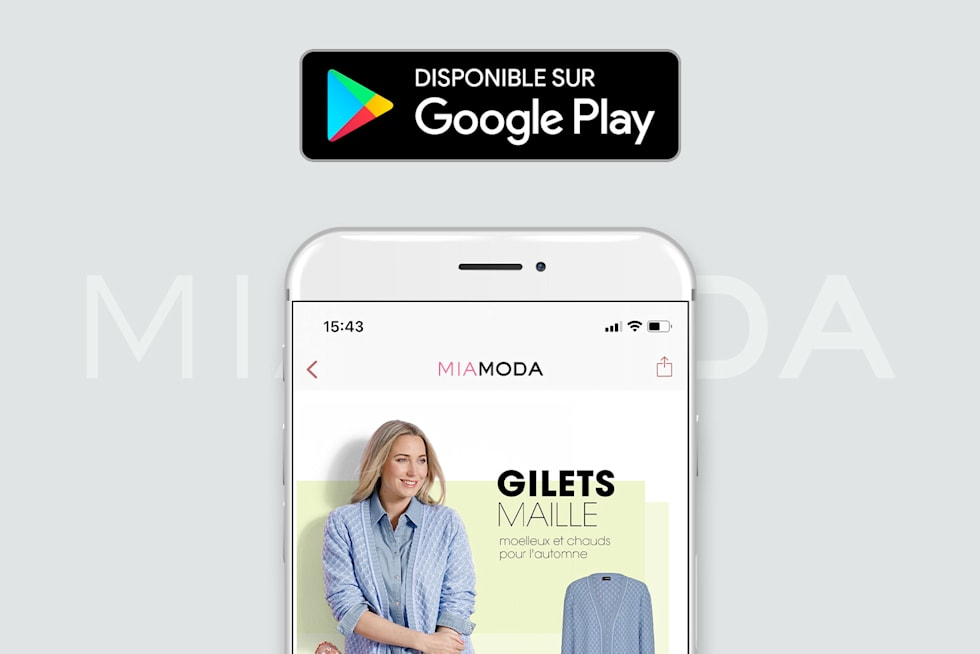 MIAMODA Big Sizes Mobile Google Play Store Télécharger maintenant