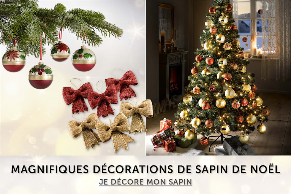 decorations pour le sapin