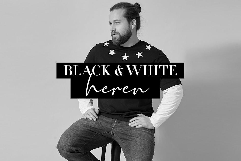 Black & White Heren