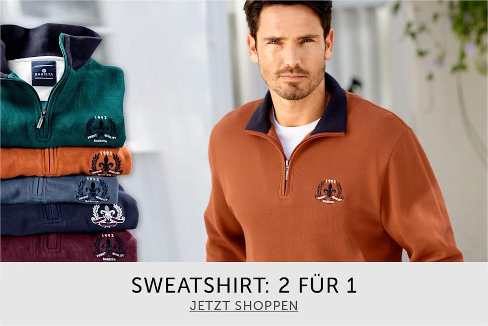Sweatshirt - 2 Für 1