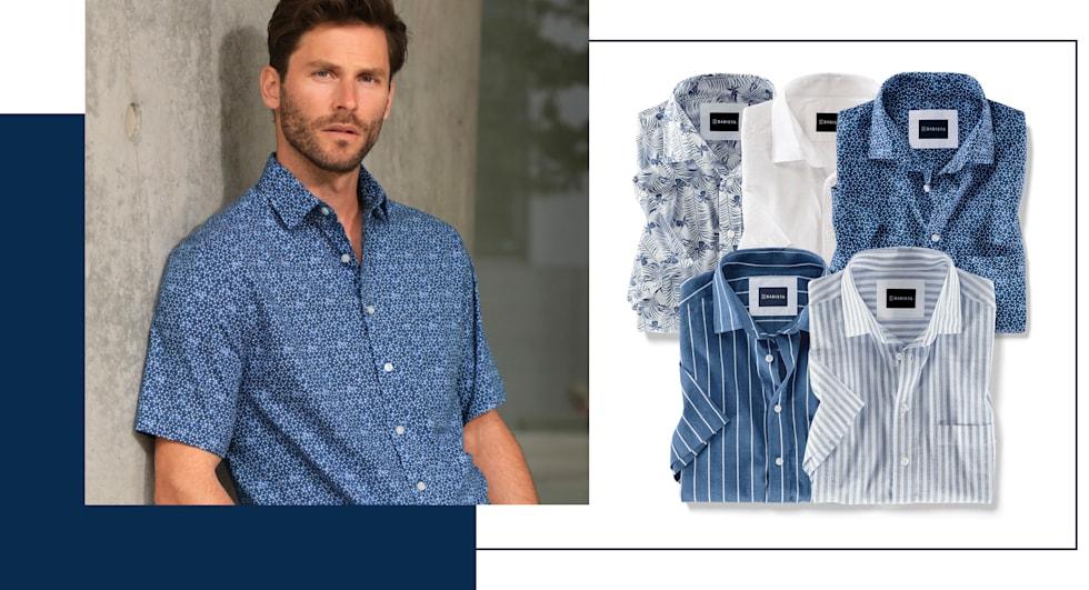 2 voor 1:  overhemden
