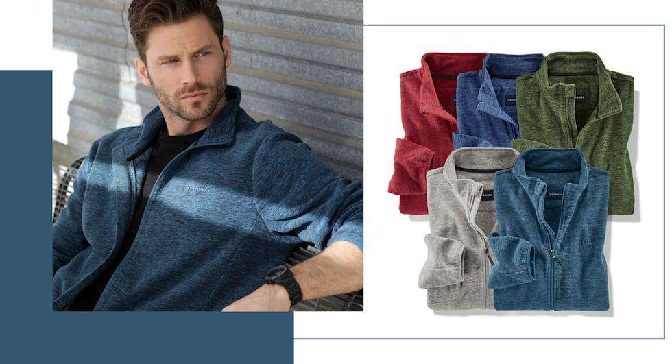 Slechts € 60: 2 fleece vesten - u kunt kiezen uit 5 verschillende kleuren