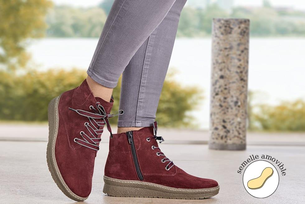 Chaussures confortables à semelle interchangeable