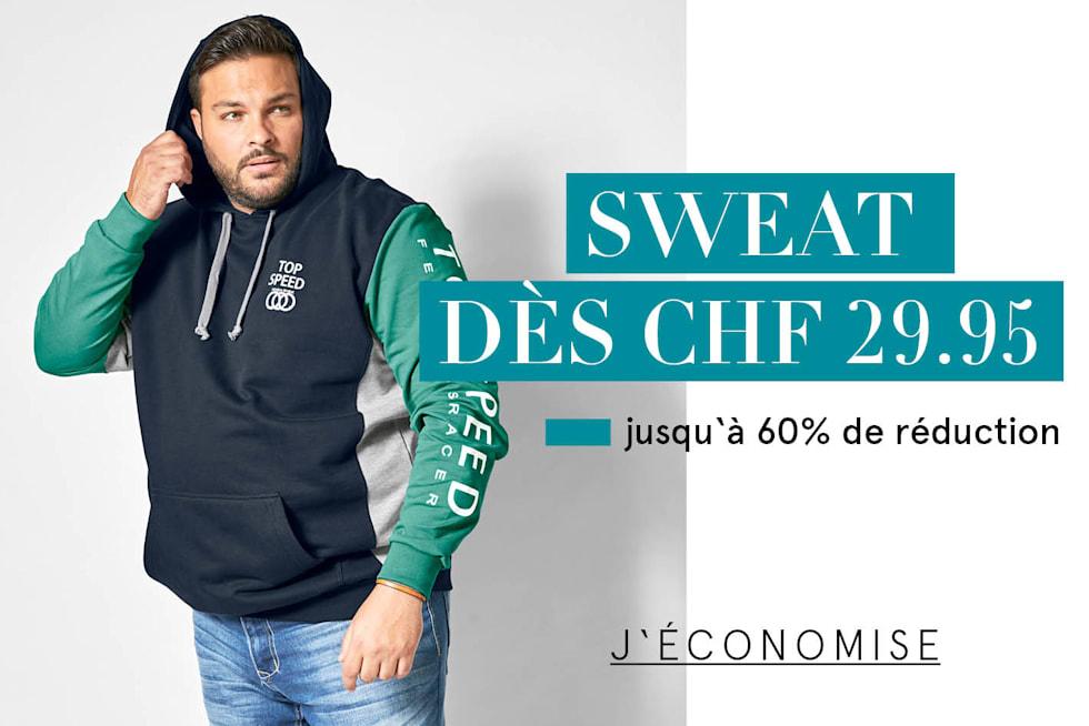Sweat dès CHF 29.95