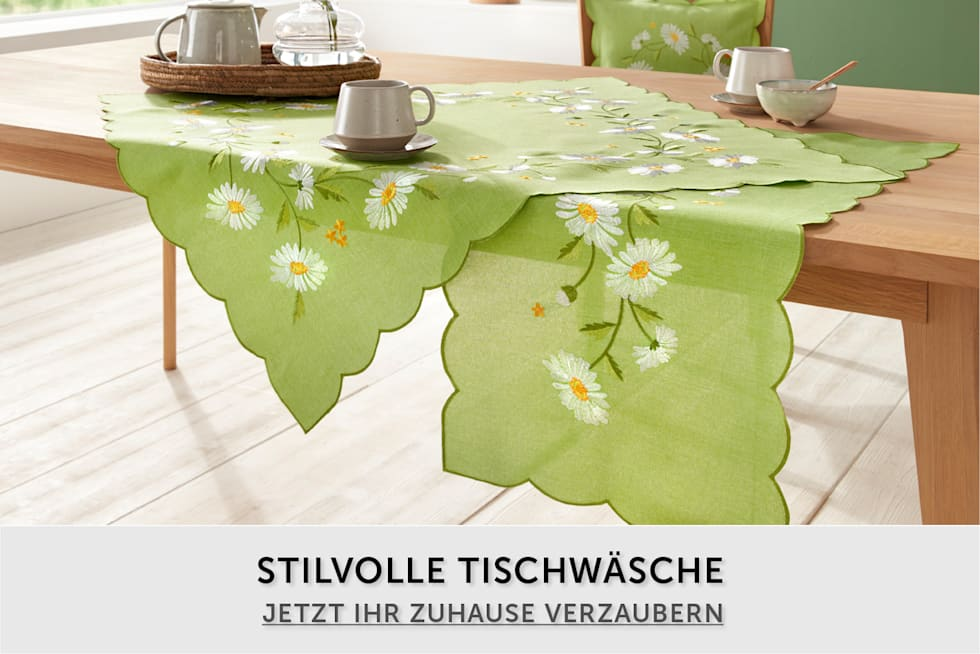 Stilvolle Tischwäsche entdecken