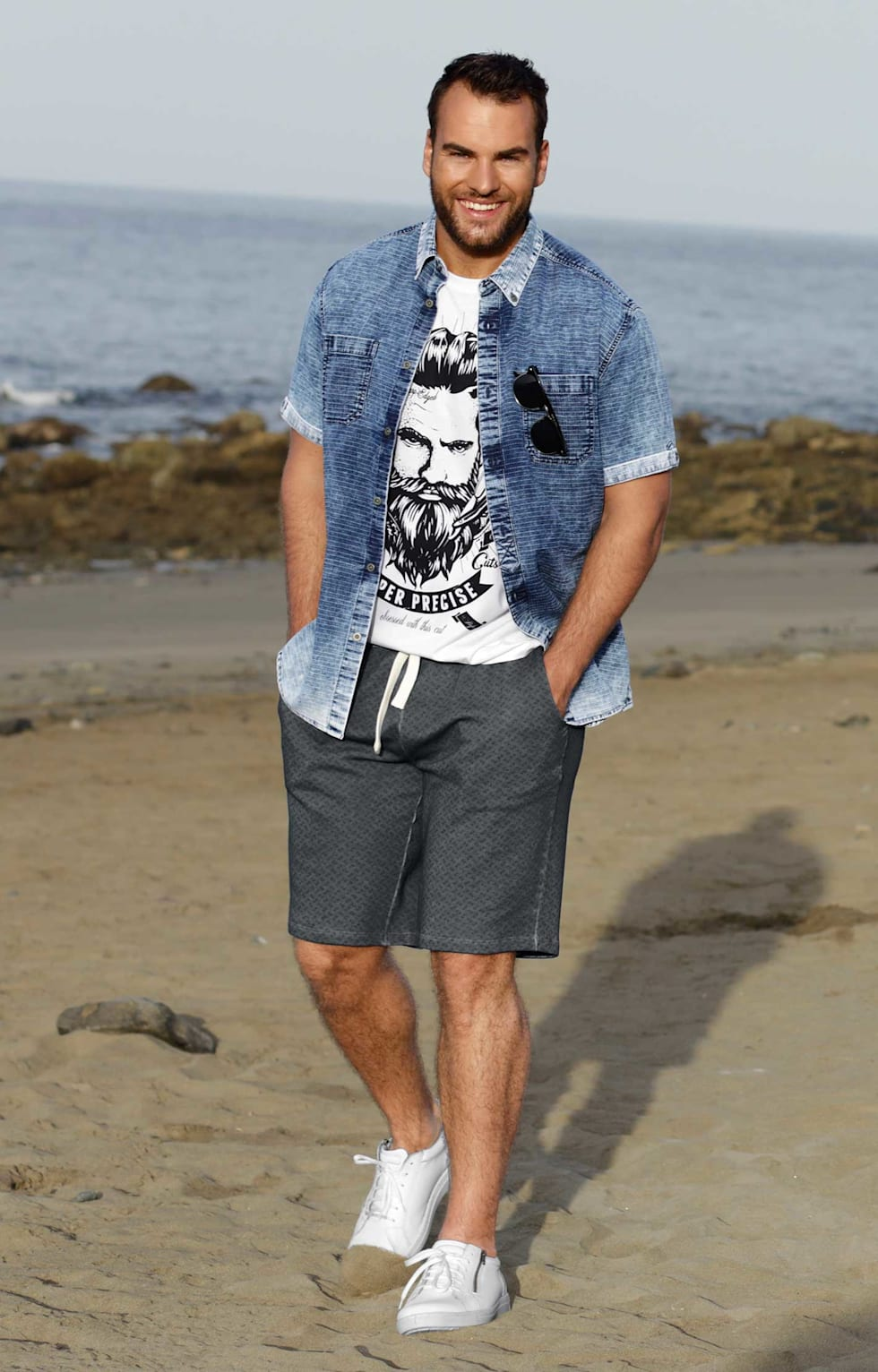 Sommeroutfit Herren Beach Style