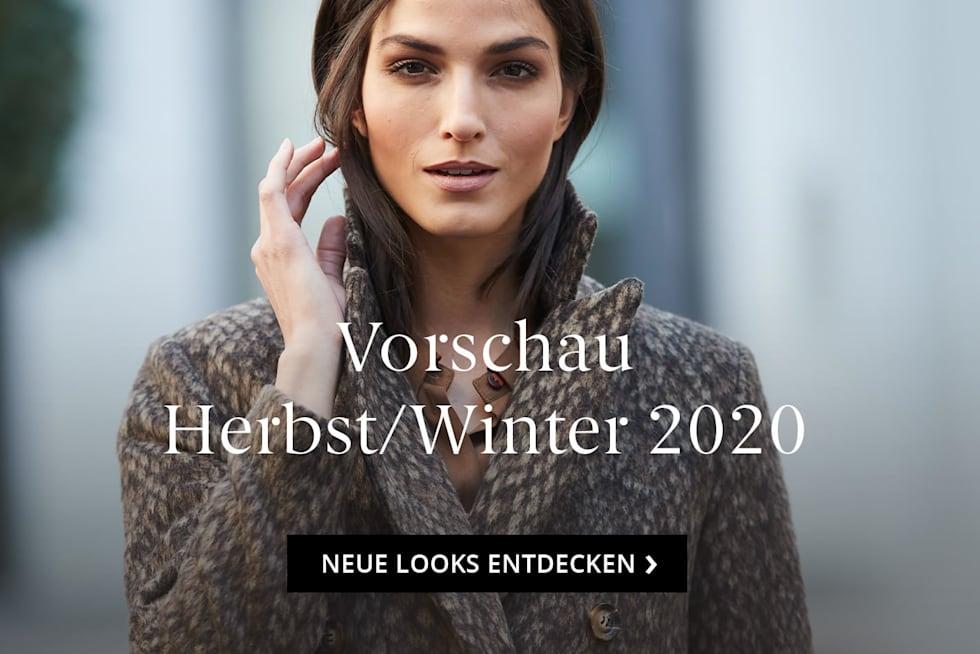 Die neuen Looks Herbst/Winter 20 sind eingetroffen
