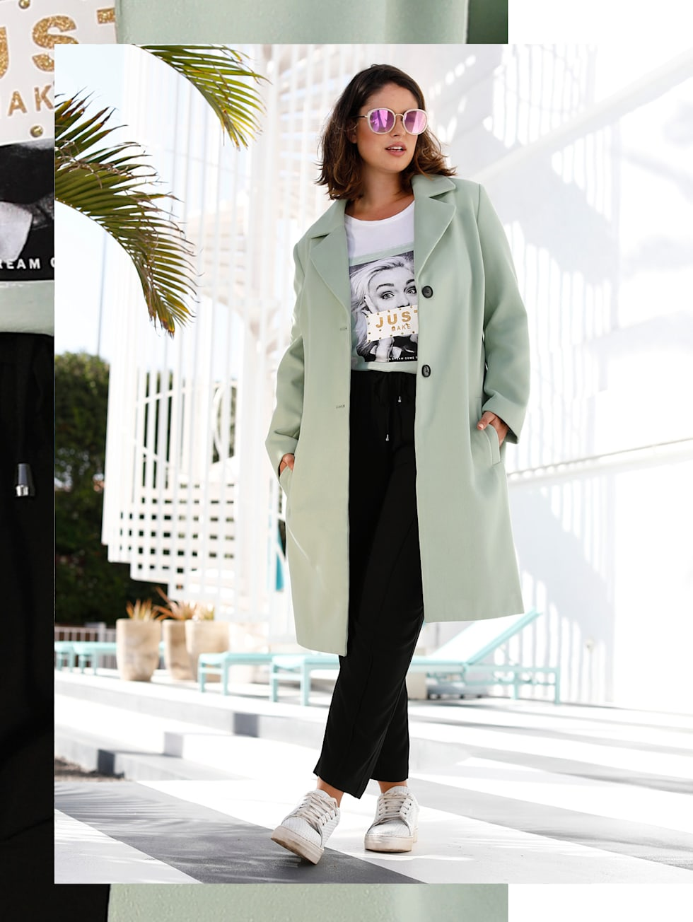 Pastell at work Outfit | HAPPYsize