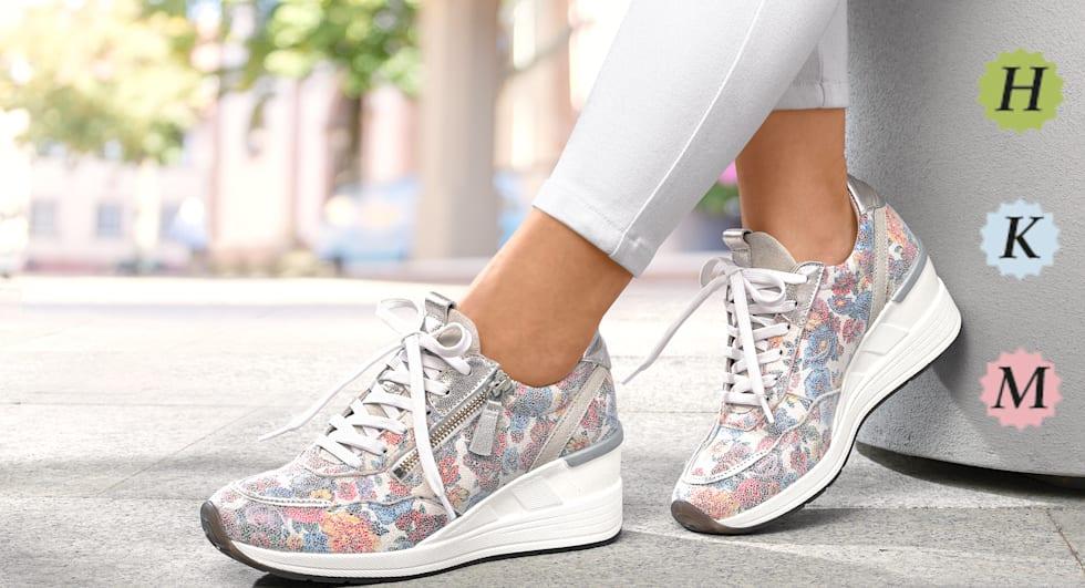 Schuhe für breitere Füße