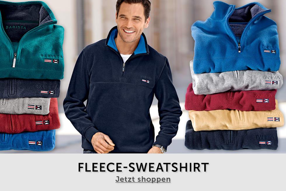Fleece-Sweatshirt - 2 FOR 1