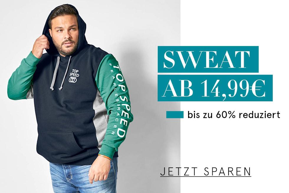 Sweat ab 14,99€ bis zu 60% reduziert