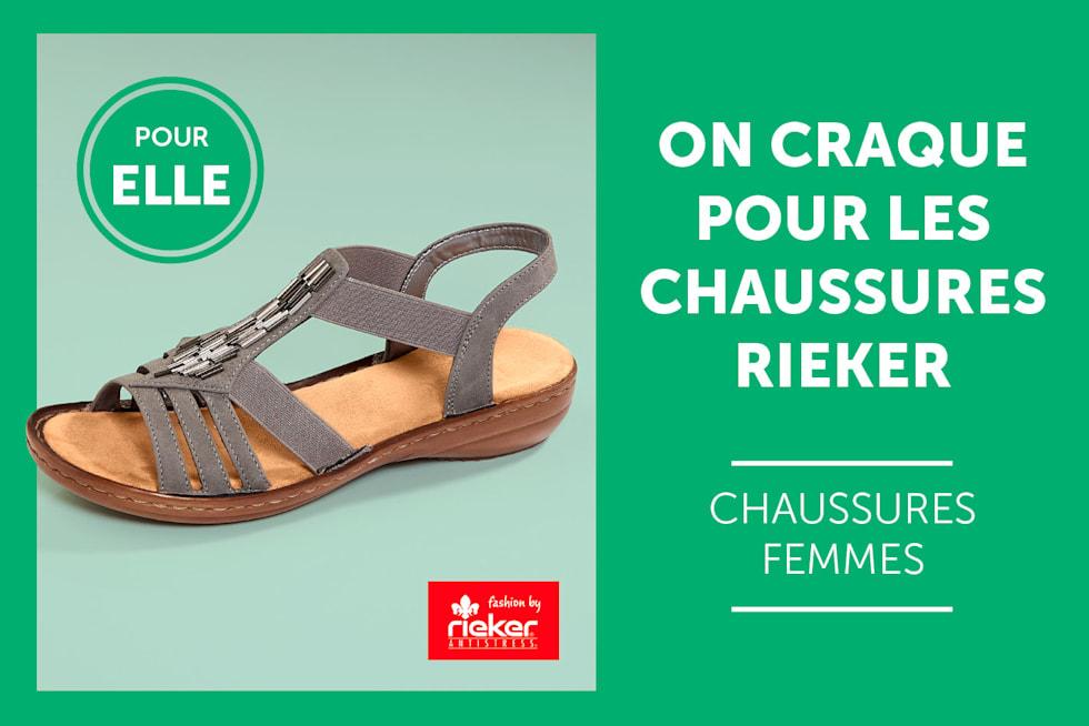 Chaussures femmes Rieker