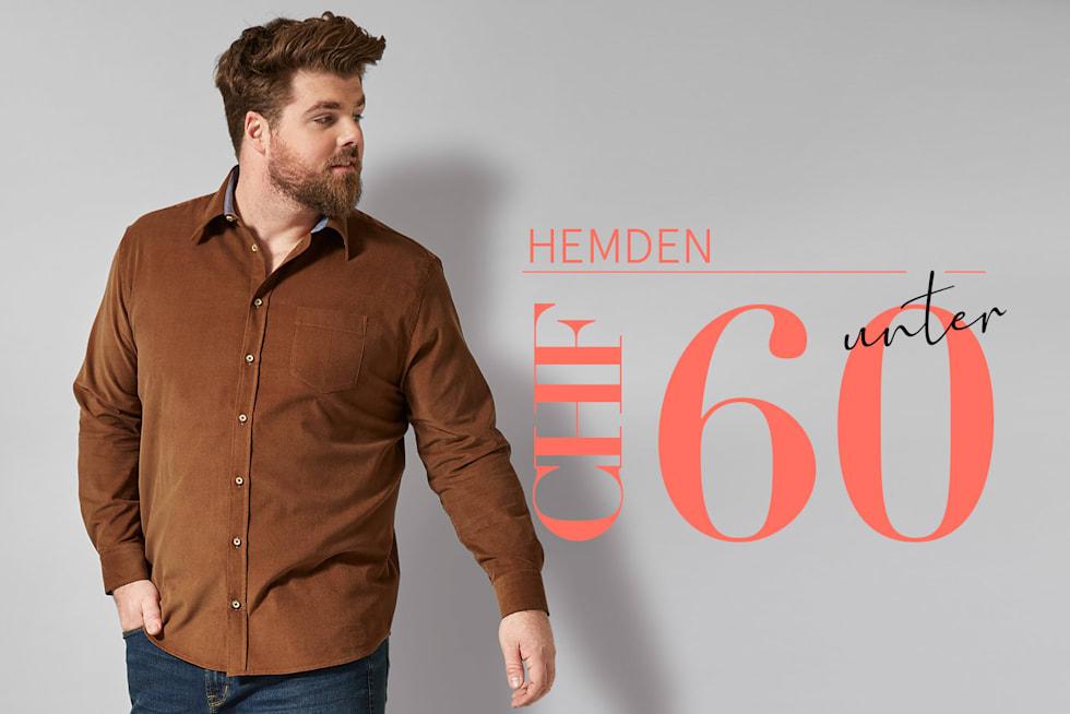 Hemden unter 60 CHF