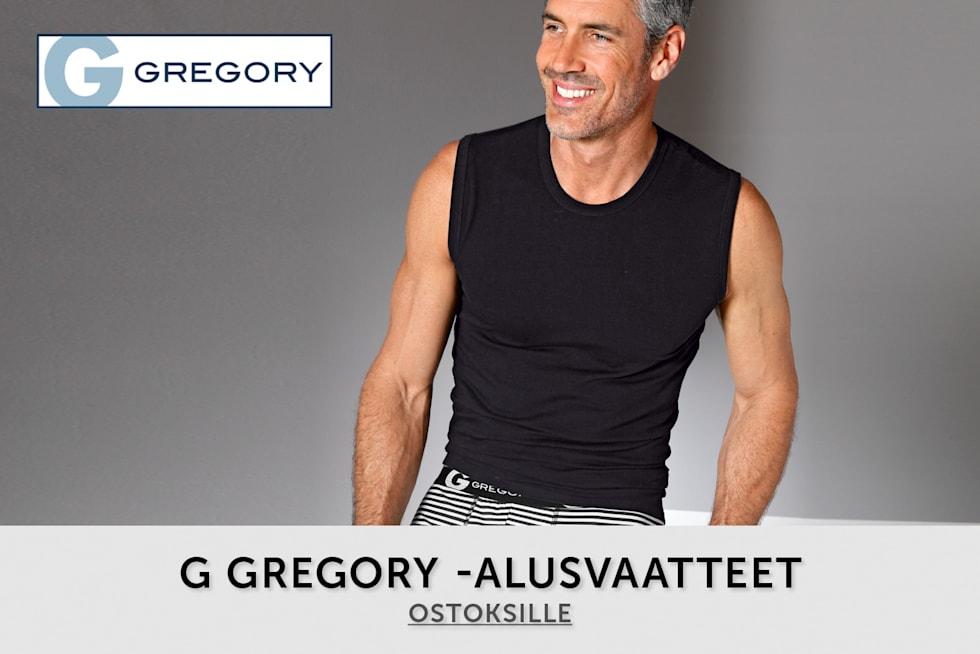 miesten alusvaatteet g gregory