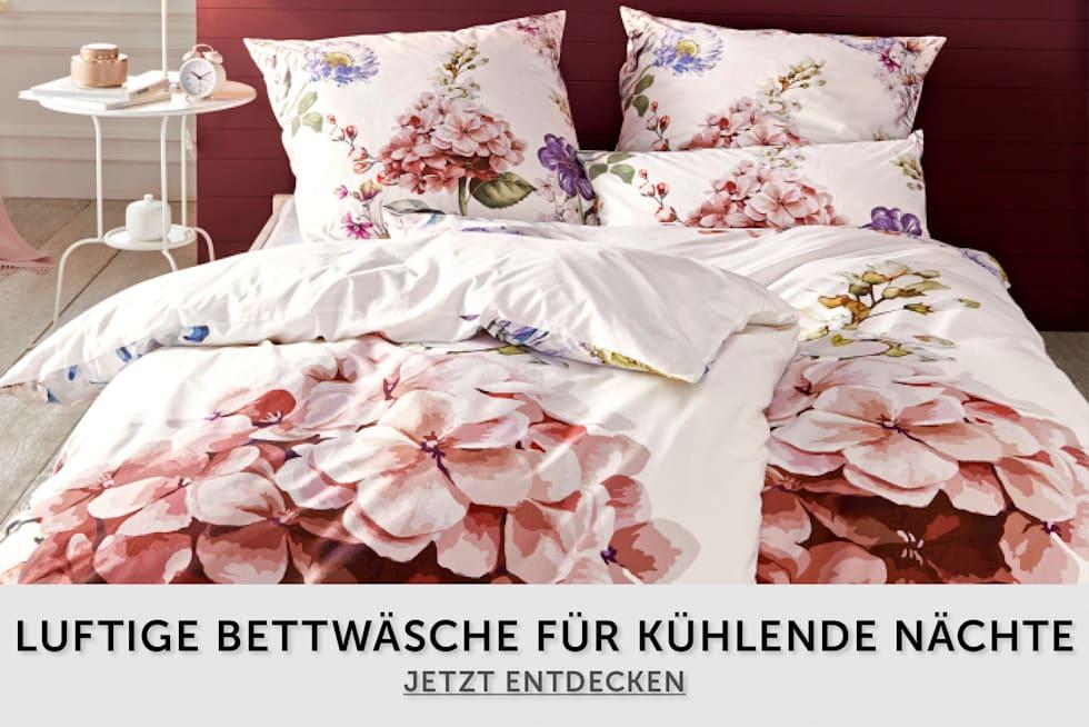 Luftige Bettwäsche für für kühlende Nächte